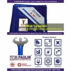 Blue X-Paulin Cross Lamination Tarpaulin