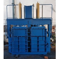 Double Chamber Hydraulic Baling Machine