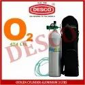 Desco Oxygen Cylinder Aluminium 3 Ltrs For Hospital
