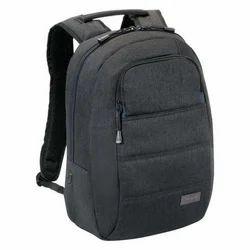 Polyester Black Laptop Backpack