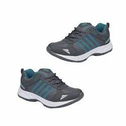 Grey, White Mens Fancy Canvas Shoes, Size: 6-12