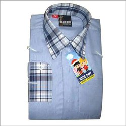 Blue School Uniform Shirt