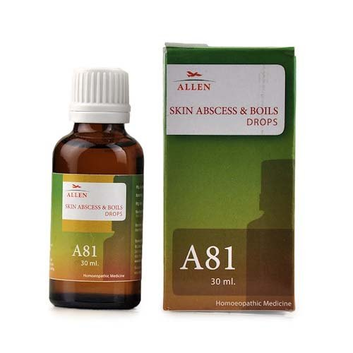 Allen A81 Skin Abscess And Boils Drops (30ml) at Rs 145/pack | Russel Chowk  | Jabalpur| ID: 20987992362