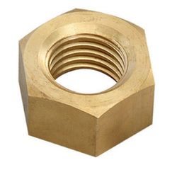 Brass Hex Nut With Groove