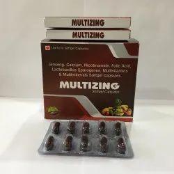 Ginseng Calcium Nicotinamide Folic Acid Lactabacillus Sporogenes Multivitamins