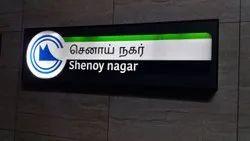 Chennai Metro Rail Signage
