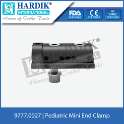 Pediatric Mini End Clamp