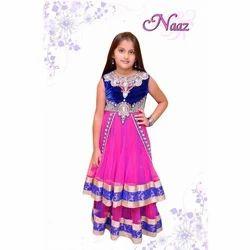Kids Girl Suit - Sleeveless Kids Anarkali Suit Manufacturer from Delhi 13dd6c1a2