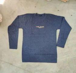 Mens Round Neck Full Sleeve T Shirt