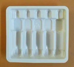 HIPS 100 Cavity Pharmaceutical Vial Tray