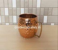 Copper Mug Hammered Design