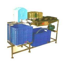 Semi Automatic Bottle Washing Machine