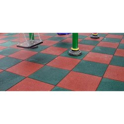 Rubber Flooring Tiles