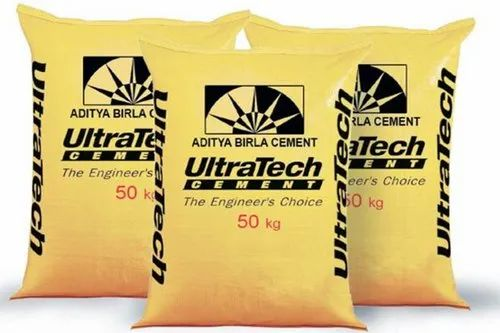 Opc and ppc Ultratech Cement, Packaging Type: HDPE Sack Bag, Packaging Size: 50 Kg