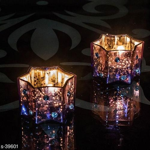 Antique And Modern/Contemporary Stunning Glass Lamp