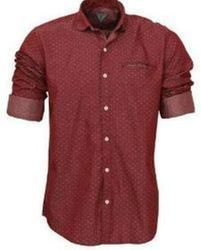 Cotton Printed Mens' Fancy Shirt
