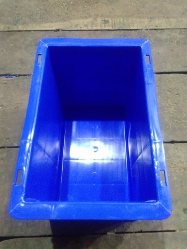 Blue Rectangular Supreme Crate SCL-302020, Capacity: 8L, Size: 300x200x200mm
