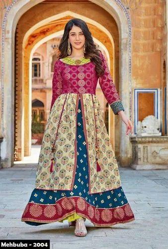 3d2b9575f2 Mehbuba Designer Anarkali Style Kurti at Rs 950 /piece ...