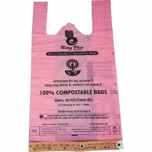 Bio Compostable Printed Bag