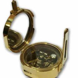 Antique Quality Vintage Heavy Brass Brunton Compass