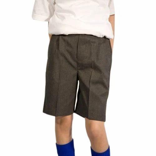 Boys School Shorts, Size: S, M & L