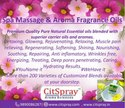 Spa massage and aroma oil