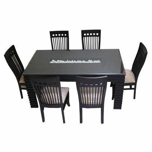 online store 9e7d4 912c8 Designer 6 Seater Dining Table Set