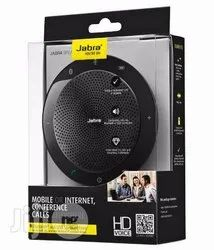 Black Microsoft Skype For Business Jabra 510 Bluetooth Speaker with Microphone, 3.3