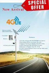 4G LTE Solar Camera