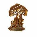 AJN-12 Brass Radha Krishna Statue