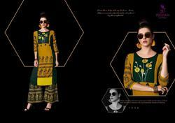 Poonam Designer Lady Gaga Series 1001-1008 Stylish Party Wear Rayon Kurti