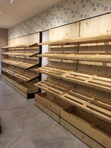 Wooden Bread Rack