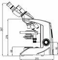 Labomed LX 300 Binocular Research Microscope (LED) Battery Backup