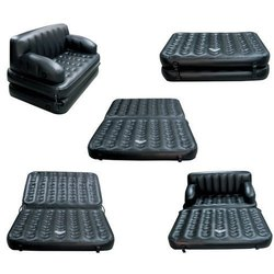 5 in 1 Air Sofa Cum Bed with Pump Lounge Couch Mattress Inflatable Sofa