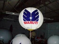 Lit Pole Balloon