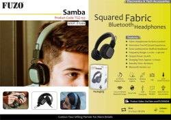 Fuzo Bluetooth Headphone Samba