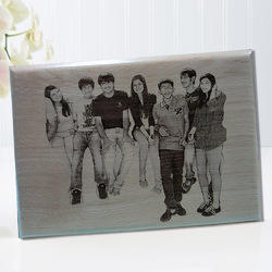 Personalized 8x11 Wooden Engraved Plaque