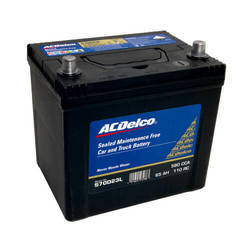 Altima Black Auto Battery Maintenance Free Din Range