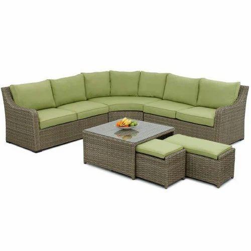 Corner Sofa Set With Center Table