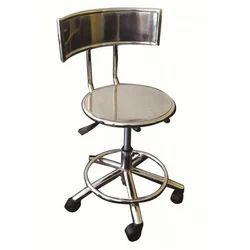 SS Rotatable Bar Chair