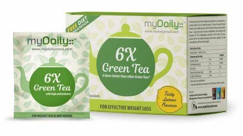 Mydaily 6x Lemon Green Tea