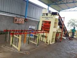 Fully Automatic Fly Ash Bricks Making Machine With Ten Cavity