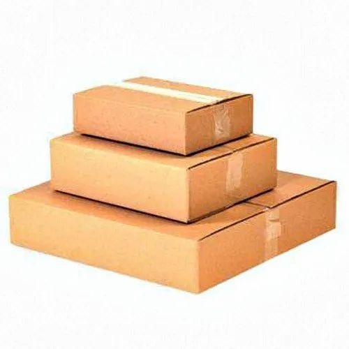 Kraft Paper Gift & Craft 2 Ply Corrugated Box