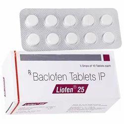Beclofen Liofen 25, Treatment: Anti Spasmodic