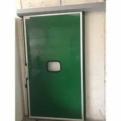 Green MS Cold Room Sliding Door