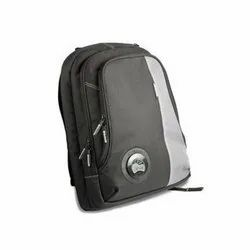 Polyester And Nylon Black And Options Available Laptop Bags