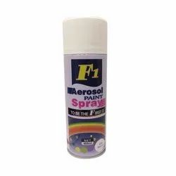 White F1 Aerosol Spray Paint, Packaging Type: Can