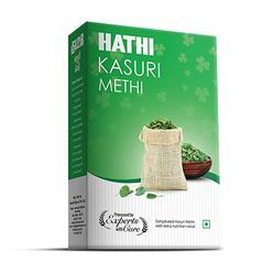 HATHI Kasuri Methi, Packaging: BOX , 100gm