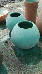 Plain Round Cement Planter