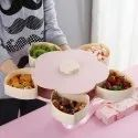 Smart Candy Box Serving Rotating Tray Spice Storage